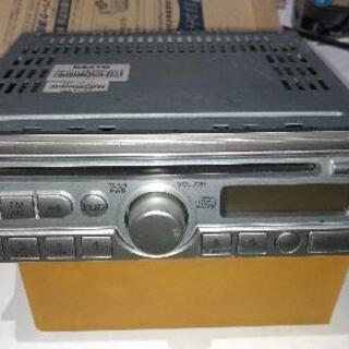カーステレオ(AM-FMラジオ、CD)、中古品
