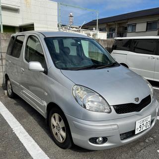 トヨタ ファンカーゴ‼️ トルコン太郎施工車両‼️ブラック🆗