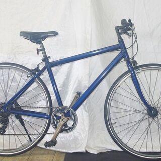「中古」オートライト装備アルミフレームクロスバイク