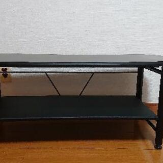 値下げ!黒色テレビ台