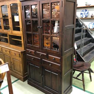 【ネット決済】北海道民芸家具 食器棚