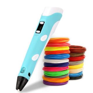 3Dペン 空中にお絵かき フィラメント3色付き