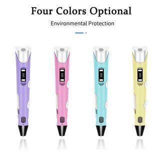 3Dペン 空中にお絵かき フィラメント3色付き - パソコン