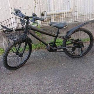 20インチ 6段ギア シフトゲージ付き自転車