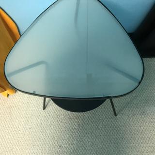 IKEA サイドテーブル 天板ガラス