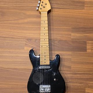 スピーカー内蔵ミニギター