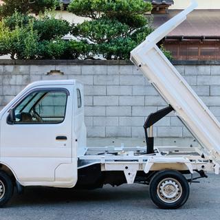 スズキ キャリイ 深底ダンプ三方開 軽トラック DA62T 平成...