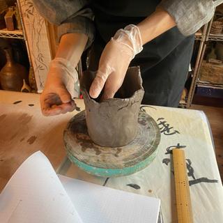 陶芸体験10月