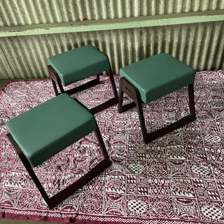 法事スツール 座敷チェア 椅子3脚