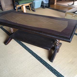 昭和レトロなテーブル