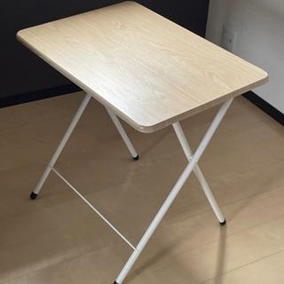 折り畳み式ワンタッチテーブルのみ ナチュラル OT-100