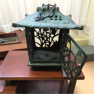 昭和レトロ 銅製 吊り灯籠 ⭐︎時代物