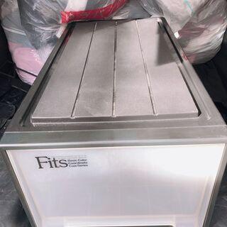 フィッツケース クローゼット 収納ケース ブラック