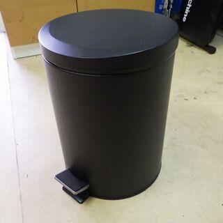 格安!店舗受け渡し可能 ペダル式 ゴミ箱 ステンレス 黒/…