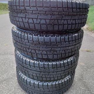 冬タイヤホイールセット 175/65R14   4本  - 売ります・あげます