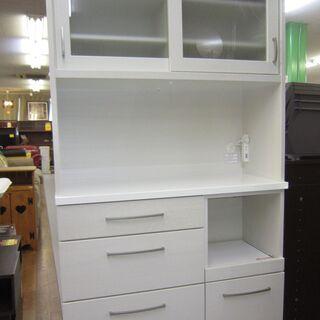 R221 NITORI キッチンボード、食器棚、幅100cm 美品