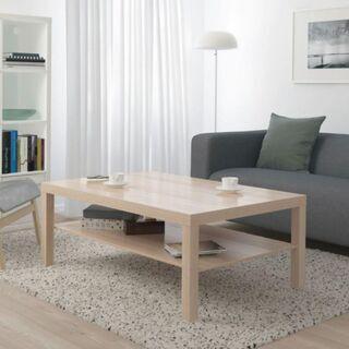 [IKEA]LACK ラックコーヒーテーブル, ホワイトステイン...