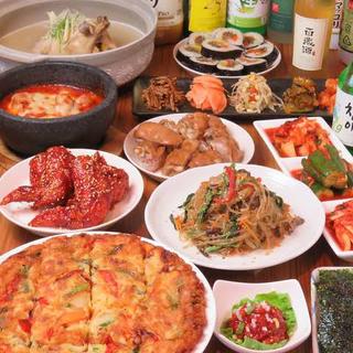 韓国料理のキッチン