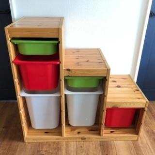 【ネット決済】IKEA オモチャ箱