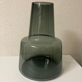 【ネット決済】フロムガード花瓶24センチ、フラワーベースブラック
