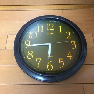 citizen 壁掛け時計 ジャンク品