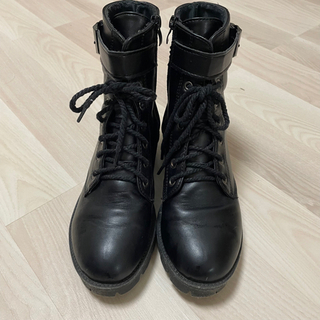 ブーツ 厚底