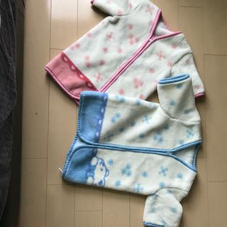 袖付きミニかいまき毛布(着る毛布)