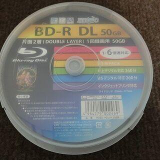 [未使用品] ブルーレイディスク BD-R DL(1回録画用) ...
