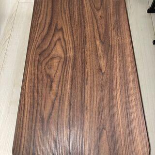 不二貿易 折りたたみ ローテーブル 幅80cm ブラウン【土日祝...