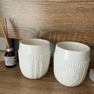陶器 カップ2セット