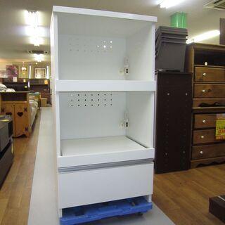 R001 国産 株式会社フジイ キッチン台、レンジ台、幅60cm 美品