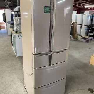【良品】MITUBISHI 6ドア冷蔵庫 MR-R47T-…