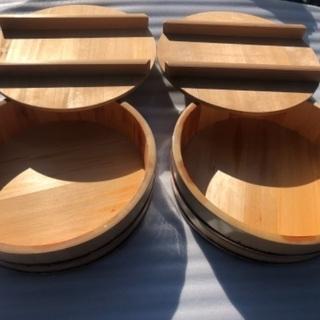 寿司桶 年代物 昭和56年製 未使用