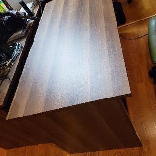 【ネット決済】パソコンデスク 幅140cm 木製 ②
