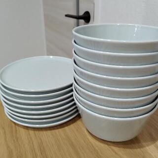IKEA食器16枚セット 和食器風