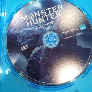 新品未視聴 国内正規品 DVD モンスターハンター