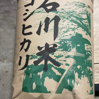 【ネット決済・配送可】令和3年 能登産コシヒカリ玄米30キロ