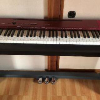 【ネット決済】【受け取りに来てくれる方のみ!】Privia電子ピアノ
