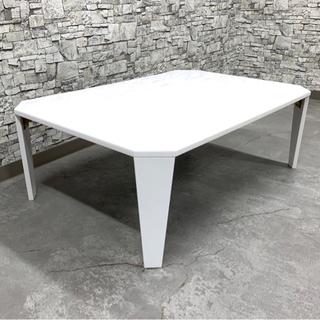 美品【ニトリ】ちょうど良いサイズ❗️折りたたみテーブル