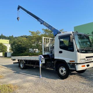 【ネット決済】H15年いすゞフォワード エアサス装備!タダノ3段...