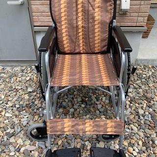 ②車椅子 自走式 日進医療製 美品