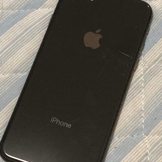 iPhone8黒64GB中古品