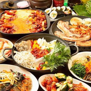 韓国料理の調理人