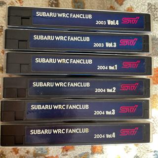 スバルWRCのテープ