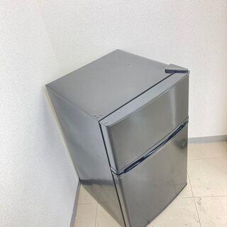 【お得品(欠品あり)】【地域限定送料無料】冷蔵庫 simplus 90L 2018年製 ARC091201 - 台東区