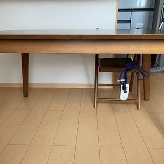 【ネット決済】ダイニングこたつテーブル
