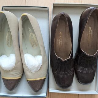 靴 23cm 2足 中古 ヨシノヤ
