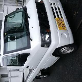 軽トラック、4WD、AT+AC+PS+車検取り立て