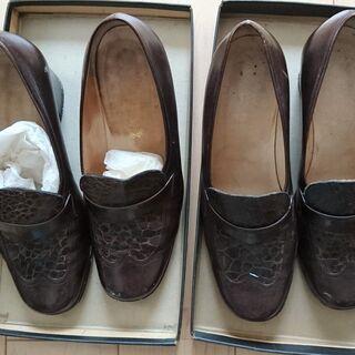 靴 23cm 2足 中古 銀座ヨシノヤ