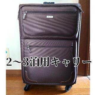 【手渡し】スーツケース3泊4日大型